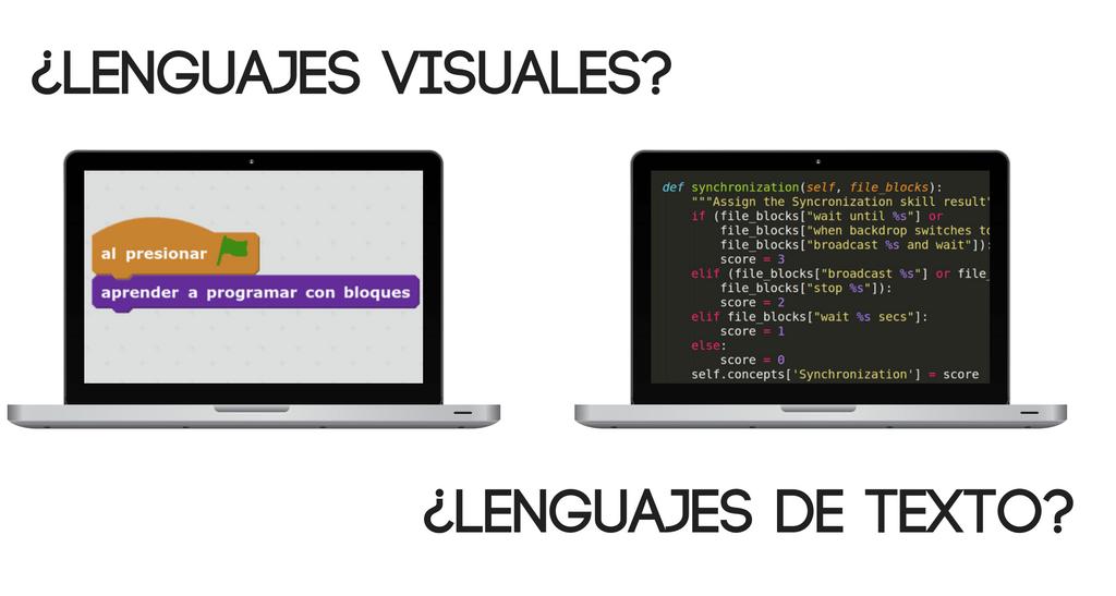 Reflexions interessants sobre l'aprenentatge de la programació i els llenguatges visuals