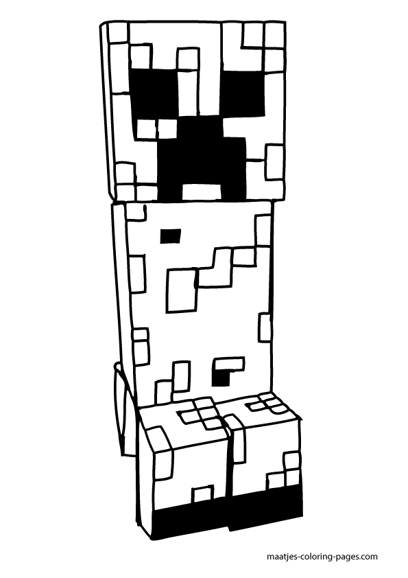 Minecraft Free Coloring Pages : minecraft, coloring, pages, Minecraft, Coloring, Pages