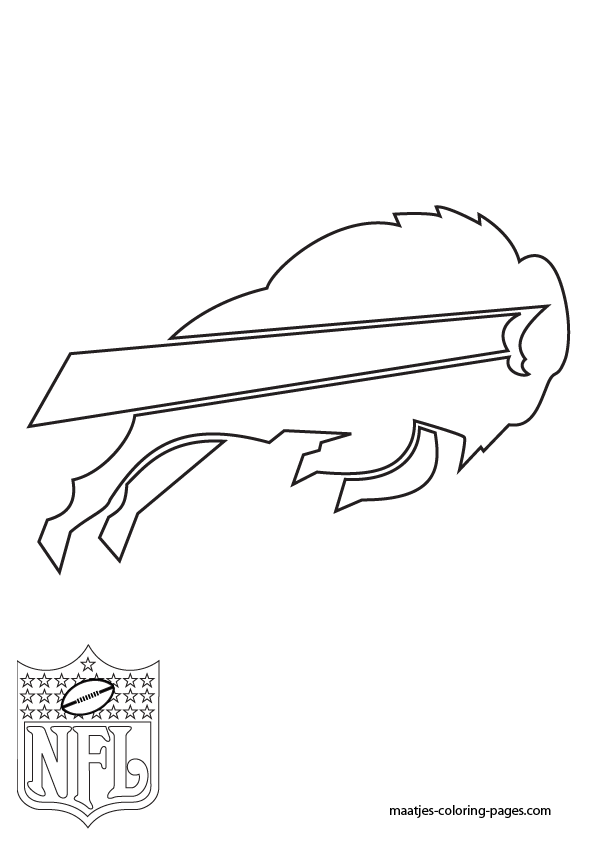 Buffalo Bills Coloring Pages : buffalo, bills, coloring, pages, Buffalo, Bills, Coloring, Pages