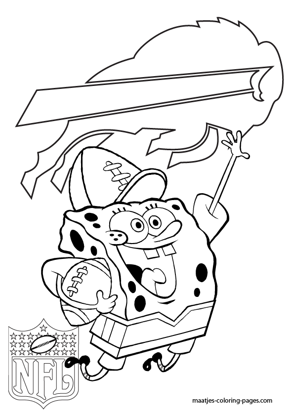 Buffalo Bills Coloring Pages : buffalo, bills, coloring, pages, Buffalo, Bills, Spongebob, Coloring, Pages