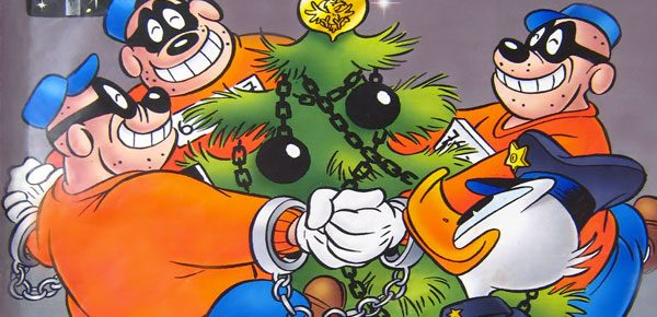 De Zware Jongens, misschien wel Nederlands bekendste boeven. © Donald Duck & co