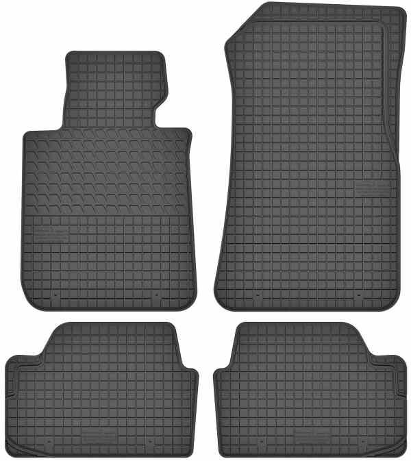 BMW 1-Series E88 (2004-2012) gummimåttesæt (foran og bag)