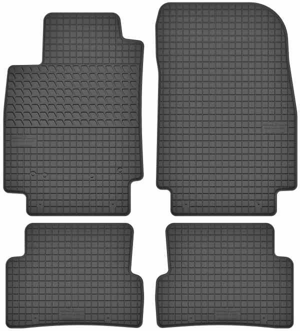 Renault Captur (fra 2013) gummimåttesæt (foran og bag)