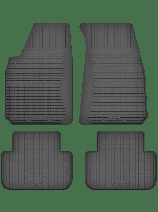 Audi 100 C3 (1984-1990) universal gummimåttesæt