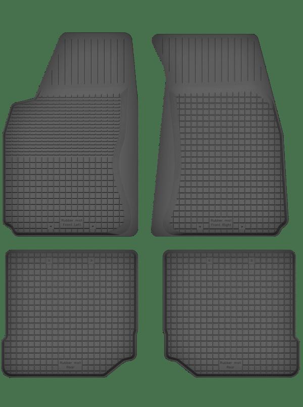 Audi 80 B3 (1986-1991) universal gummimåttesæt