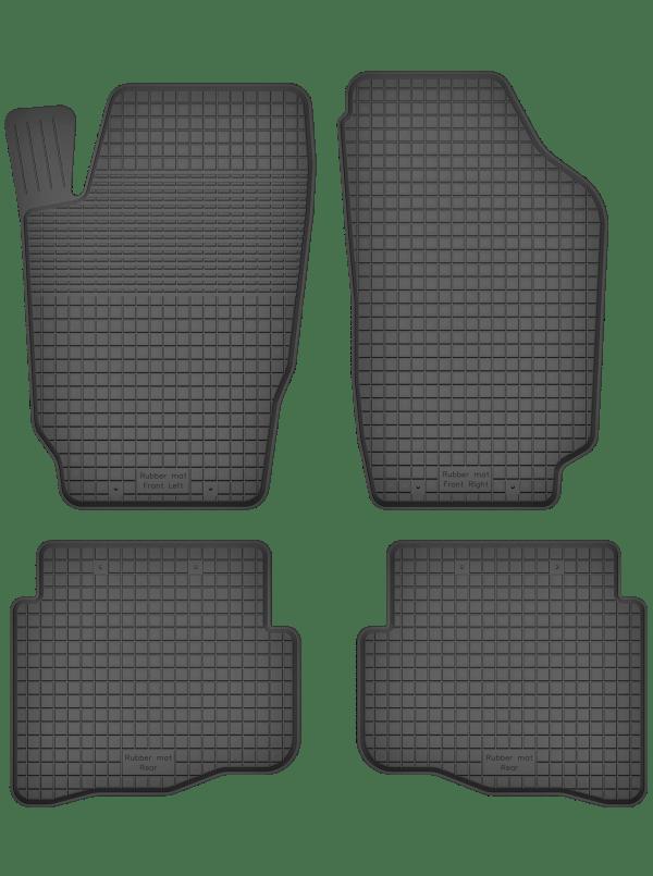 Volkswagen Fox (2003-2011) universal gummimåttesæt