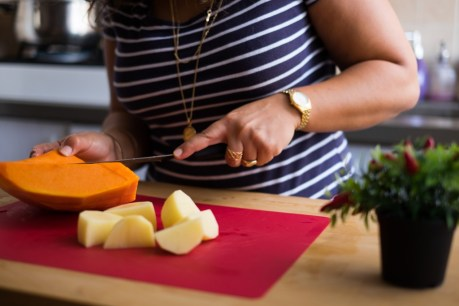 חיתוך ירקות למרק