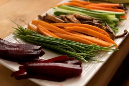 ירקות לסושי