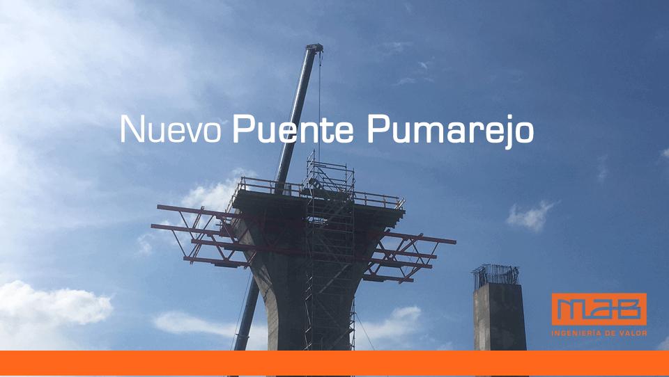 Puente Pumarejo en cifras