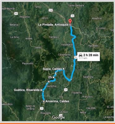 Carretera Cauyá - la Pintada