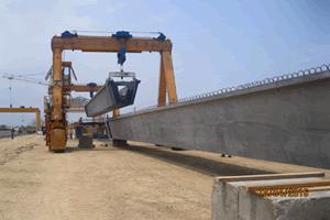 Traslado de elementos Viaducto El Gran Manglar