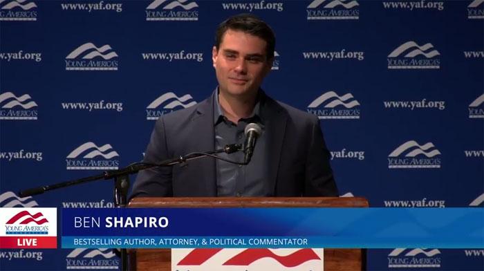 Ben Shapiro at UCLA Speech: FULL