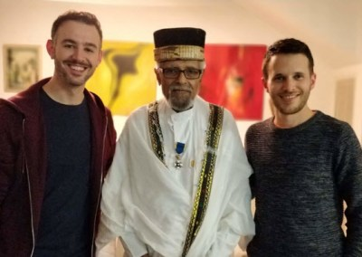 Episode 123 – MLK Day Special: Prof. Ephraim Issac, Peacemaker