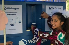 Watergen Provides 120 Orphans in Uzbekistan With Fresh Water Made From Air