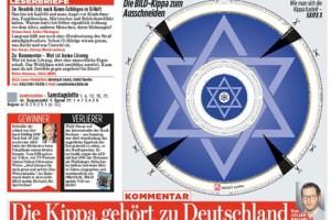 היומון הנפוץ בגרמניה ידפיס כיפות נייר מאת אלדד בק ודן לביא