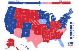 יותר כחול פחות אדום – אומר סקר של מכון ברוקינגס \ ש. קוצר