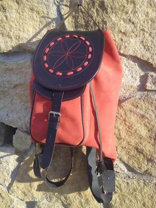 mochilas de piel, mochilas, artesania, hecho a mano, piel, cuero, mochilas de cuero,