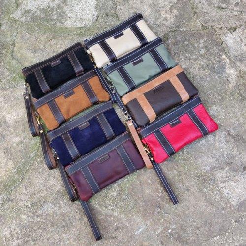 bolso de mano, hombre, mujer, distintos colores