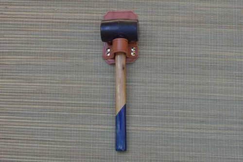funda, cuero, piel, funda para hacha, funda para martillo
