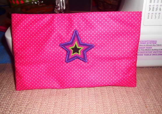 Waterproof Rocker Makeup Bag