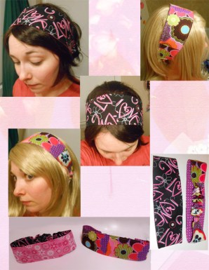 Headbands...