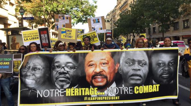 Diaspora gabonaise: le business des manifs post-électorales