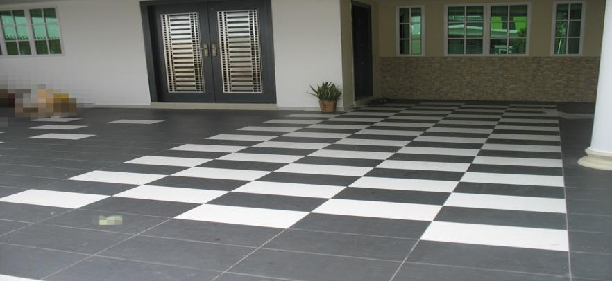 carporch tile 5  Mabina Design & Renovation
