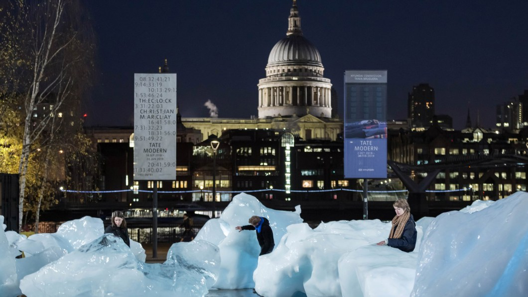 Don't miss Ice Watch at the Tate!