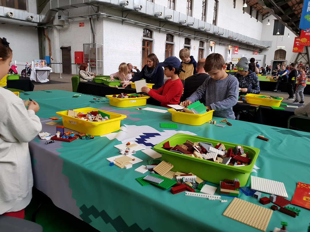 Lego Bricklive à Bruxelles