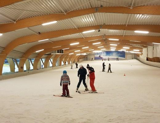 Skier au ice mountain avec l'ESF d'Orcières Merlette