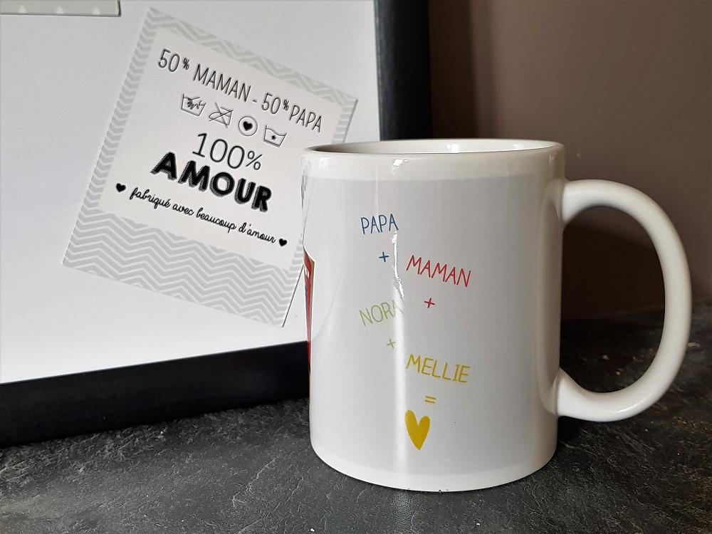 Mug cadeau photos