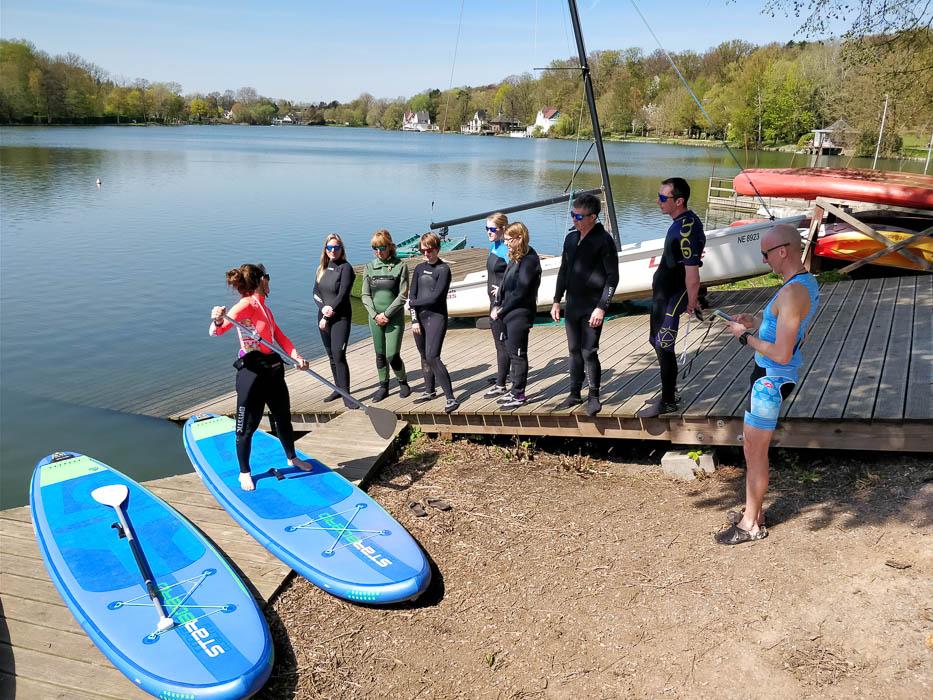 Initiation au Paddle - article Lac d'Annecy, lac de montagne, Savoie