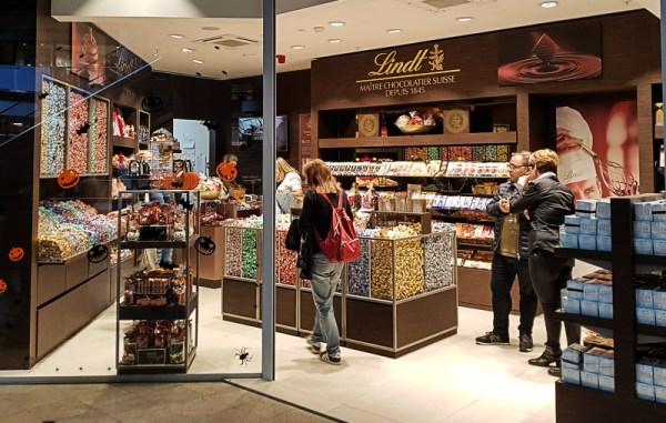 Ouverture du premier magasin Lindt à Bruxelles