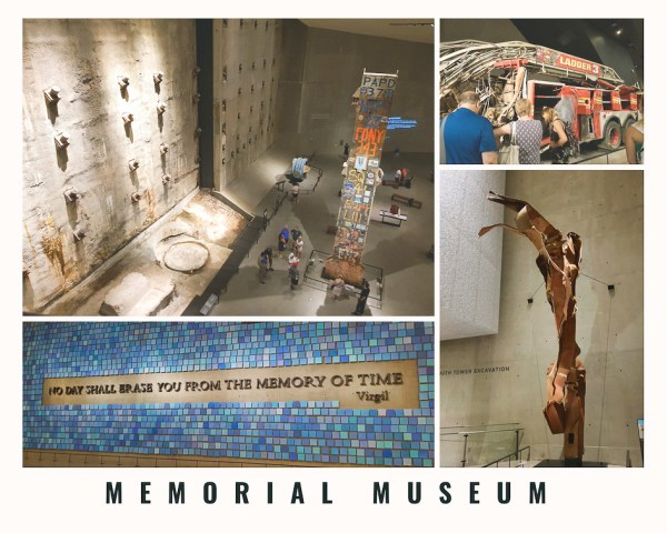 New York - Memorial Museum - Ground zero - WTC