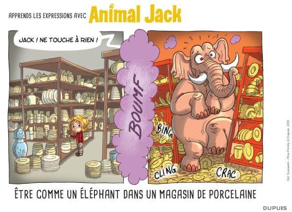 Kit pédagogique Animal Jack des Editions Dupuis