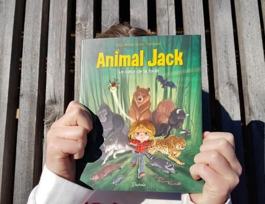 Animal Jack, la nouvelle pépite BD Jeunesse des éditions Dupuis