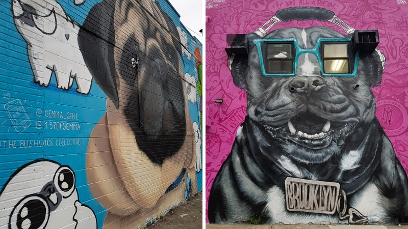 Brooklyn et le street art - The Bushwick Collective