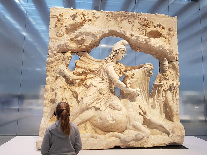 Visite du musée du Louvre-Lens en France
