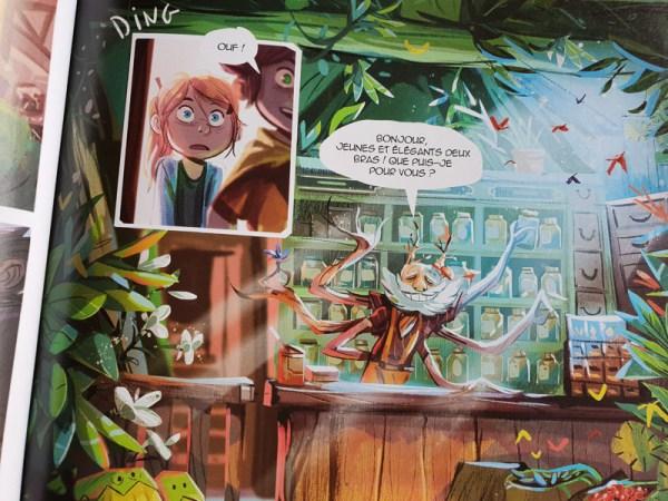 Sélection de BD Jeunesse : La boîte à musique - Editions Dupuis