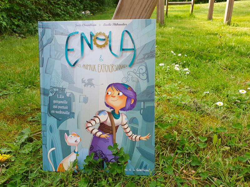 Sélection de BD Jeunesse : Enola et les animaux extraordinaire - Editions Dupuis