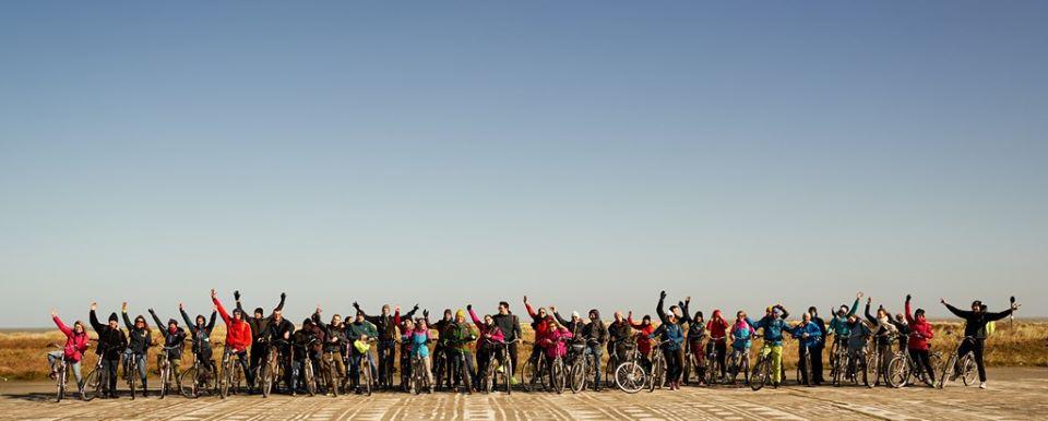 Zwin en vélo, photo de Vincent Duterne.