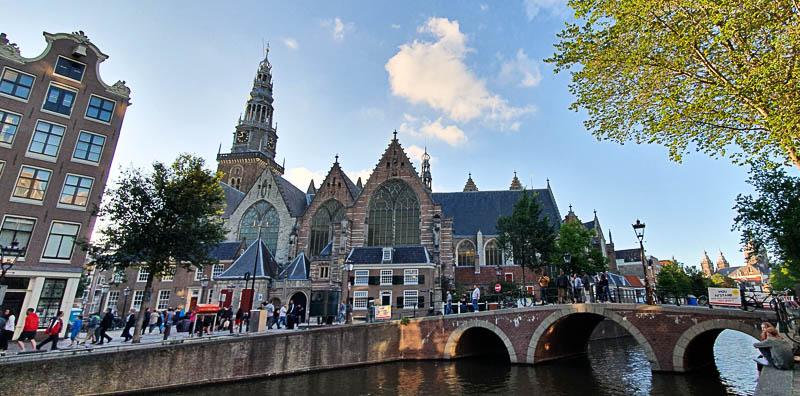 Red light district à Amsterdam
