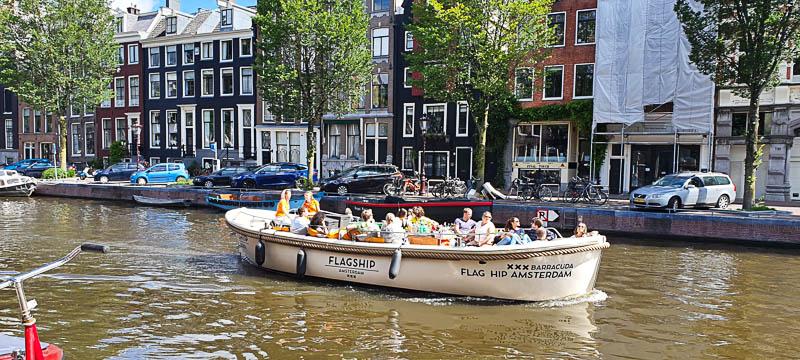 Croisière sur les canaux de Amsterdam