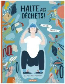 Halte aux déchets, un livre documentaire pour conscientiser les enfants
