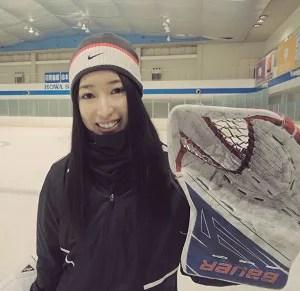 藤本那菜 アイスホッケー 札幌学院大学 女子 日本代表 スマイルジャパン ゴールキーパー GK デンソー ボルテックス札幌
