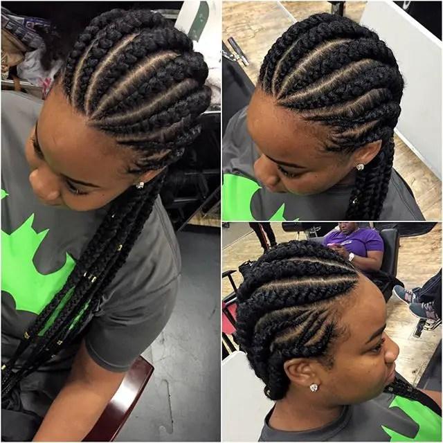 Most Beautiful Ghana Weaving Hairstyles 2016
