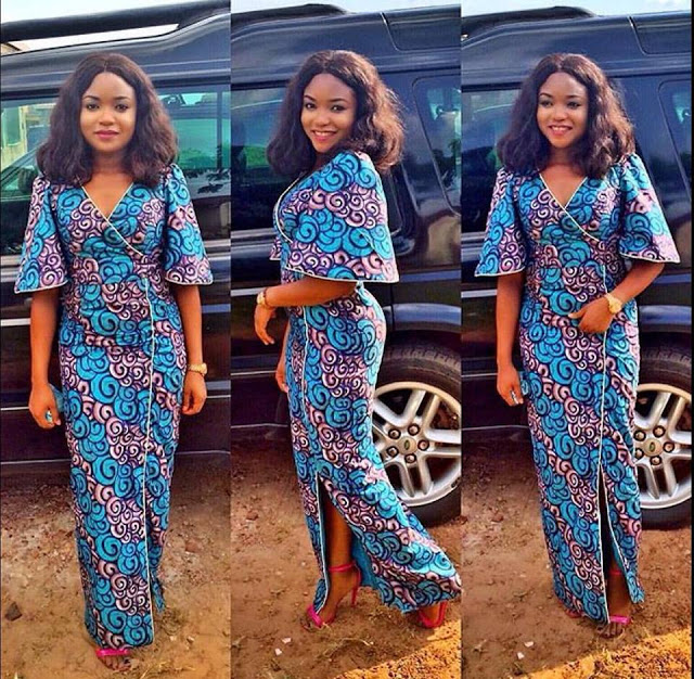 Ankara Long Gown Designs for Smart Ladies