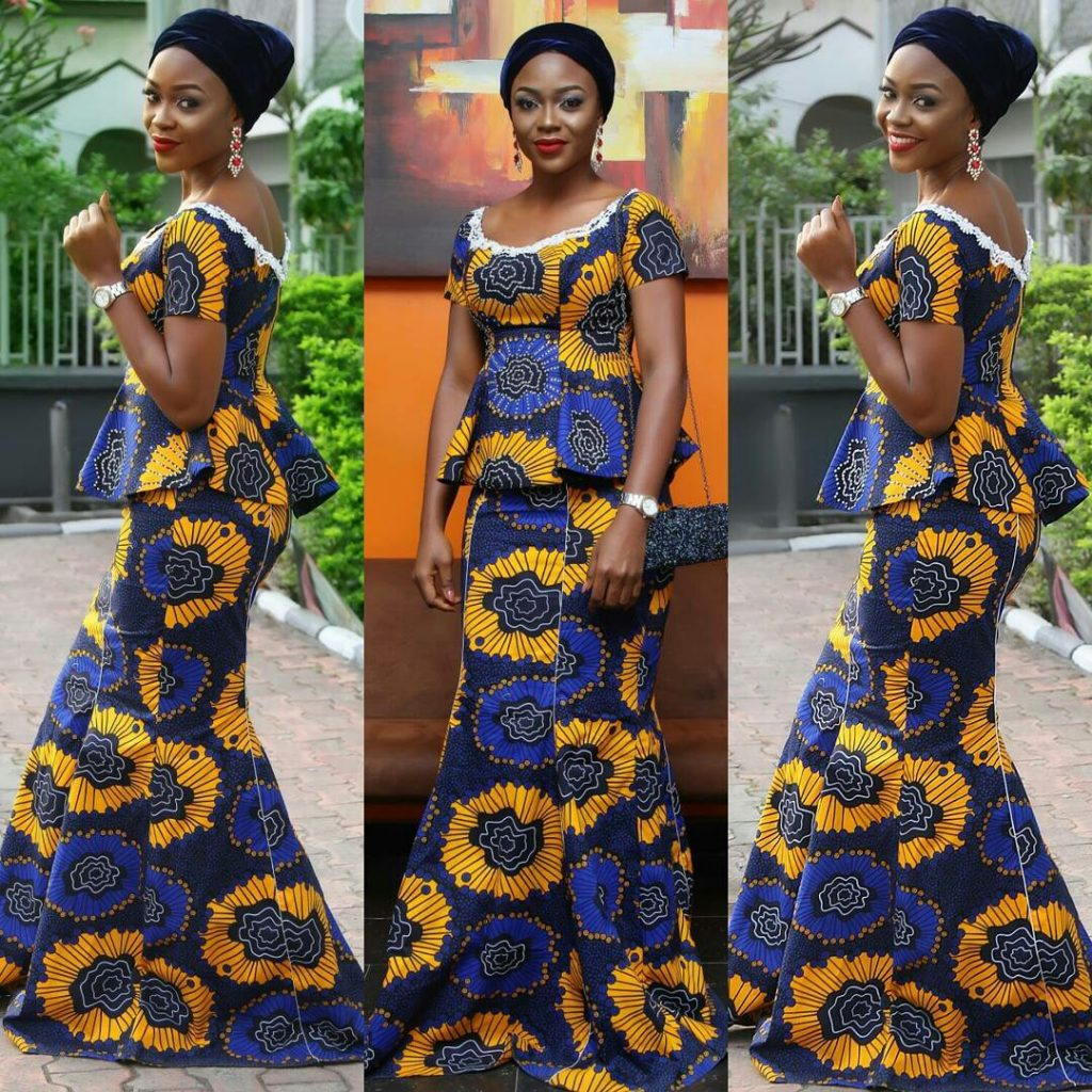 Ankara Aso Ebi Styles 2017 Classical Ankara Collection