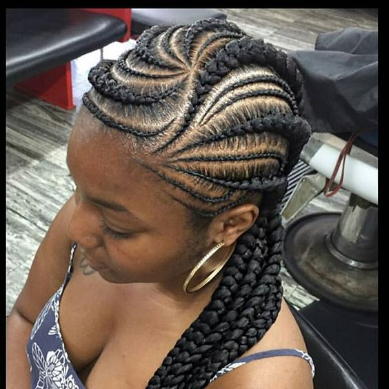 African Braids Hairstyles : Cool Braided Hairstyles For Smart Baes