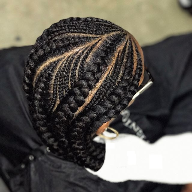 Weaving Hairstyles on Natural Hair 6